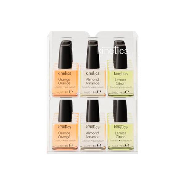 Display 30 unidades Mini Oils aceites de cutículas Kinetics