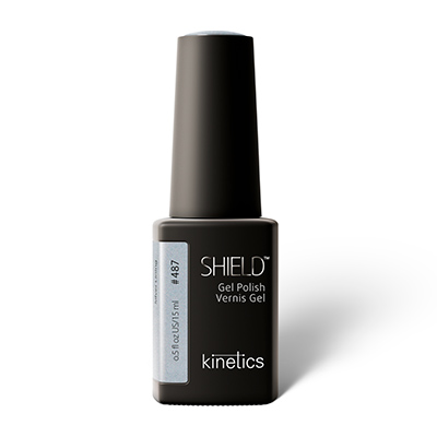 487 SILVER LINING - Kinetics Nails color