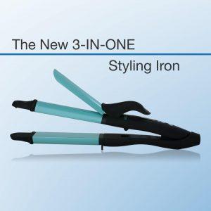 3 en 1 Bio ionic Styling Iron – herramienta multifunción