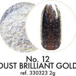 12. DUST BRILLIANT GOLD