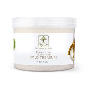 Mineral Spa Salt Gold Treasure