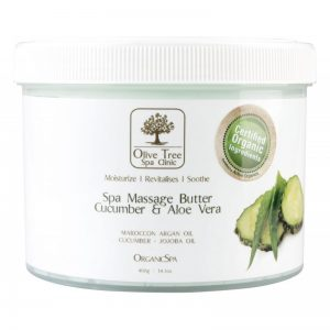 Organics Massage Butter Cucumber & Aloe Vera