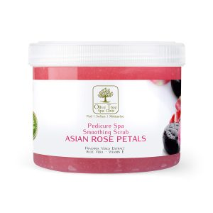 Smoothing Scrub Asian Rose Petals