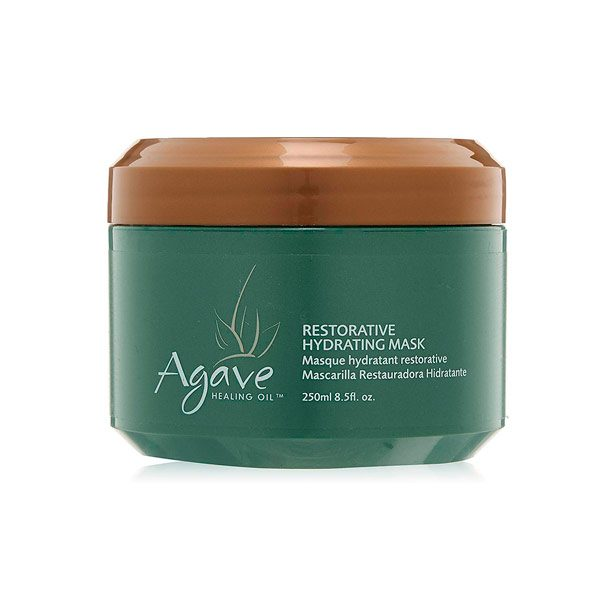 Agave restorative hydrating mask, mascarilla hidratante aceite de agave