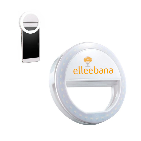 Luz selfie foco anillo para selfie Elleebana Halo selfie light para pestañas, cejas, luz maquillaje