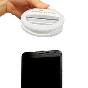 Luz Selfie Elleebana Halo Light – foco LED anillo para móvil