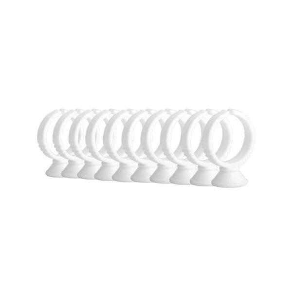 10 unidades Anillos para adhesivo de pestañas Elleebana