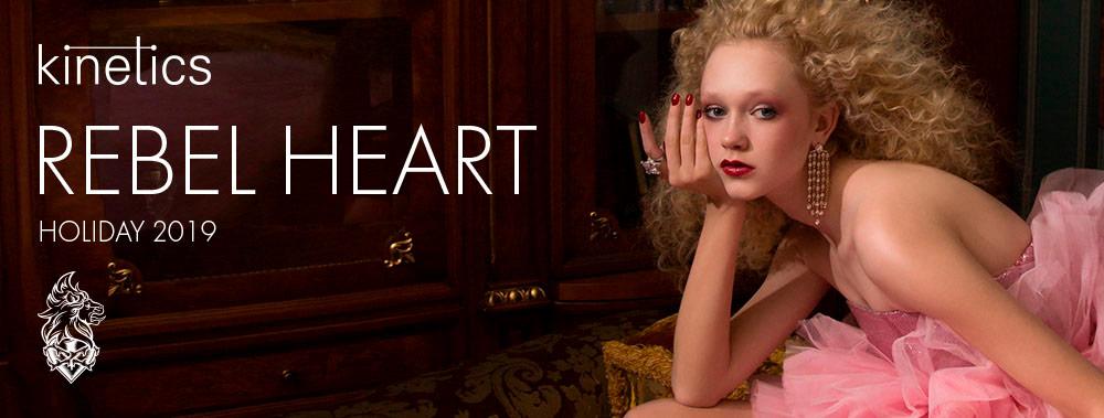 Colección uñas Rebel Heart de Kinetics