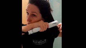 Cómo plancharse el pelo en casa de forma profesional durante la cuarentena [Paso a paso + Vídeo]