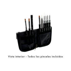 Estuche con pinceles Victoria Vynn Brush Case – LLENO