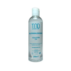 Glutaraldehído 250 ml – antiséptico para torno