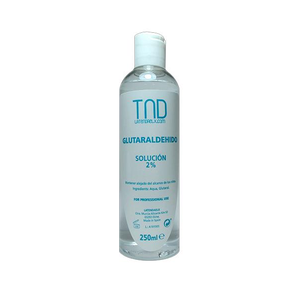 Glutaraldehído 250 ml - antiséptico para terminaciones con fresas y tornos - solución 2%