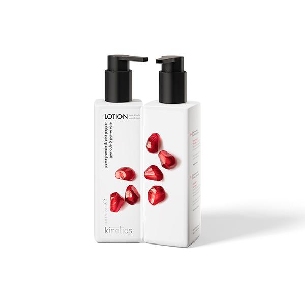 Hand body lotion Kinetics crema manos cuerpo Pomegranate 250 ml