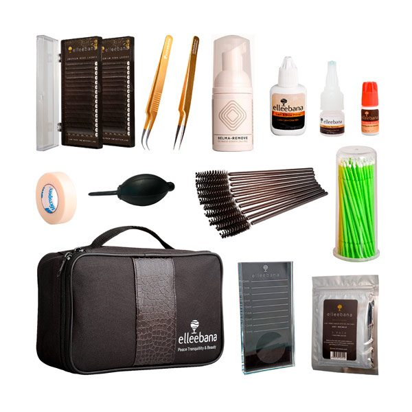 Kit Extensiones de pestañas Elleebana Eyelash Extensions