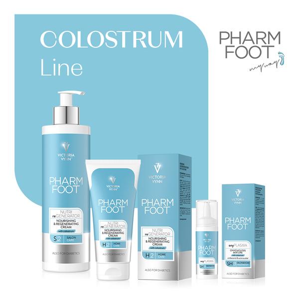 Línea Colostrum, Pharm Foot, línea de pedicura de Victoria Vynn