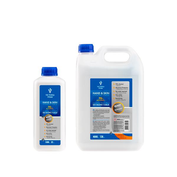 Líquido antiséptico Piel y Manos - Sanitizer Victoria Vynn