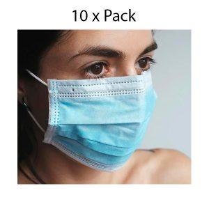 Mascarillas quirúrgicas – Pack de 10 unidades