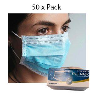 Mascarillas quirúrgicas – Pack de 50 unidades