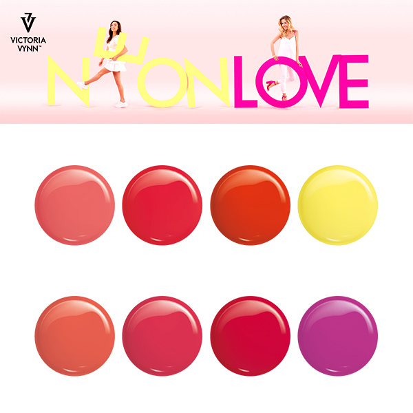 Neon Love colección Victoria Vynn - colores