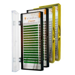 Extensiones de pestañas Abanicos PBT 2D / 3D / 4D / 5D – Elleebana
