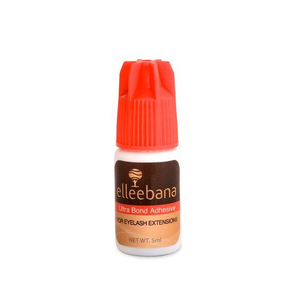 Adhesivo para extensión de pestañas Elleebana Ultra Bond Adhesive negro secado rápido