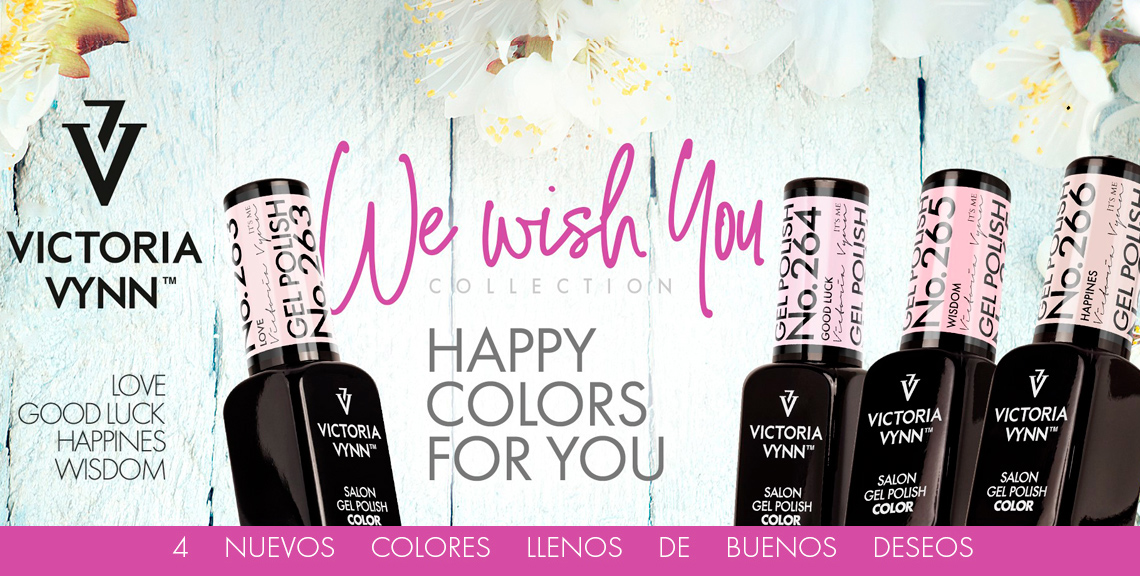 We wish you Victoria Vynn 263 264 265 266 colors